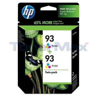 HP NO 93 INK CARTRIDGE TRICOLOR 2PK